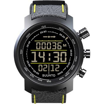 Suunto Elementum Terra Black/Yellow Leather (thumb15024)